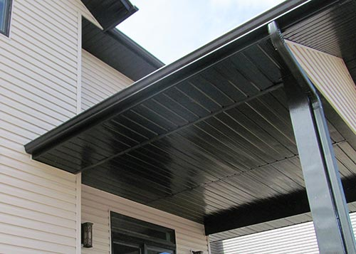 Eavestrough and Soffit