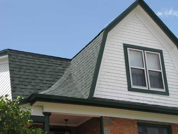 A RAM Exteriors shingle roofing installation