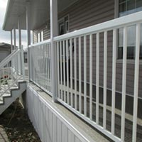 A deck installed by RAM Exteriors