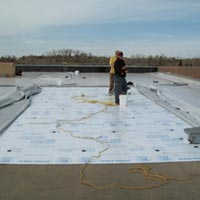 A Duro-Last roof installed by RAM Exteriors