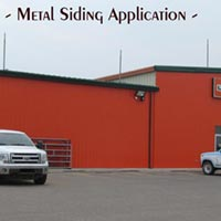 Metal siding installed by RAM Exteriors