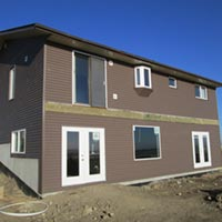 Windows, doors and siding done by RAM Exteriors